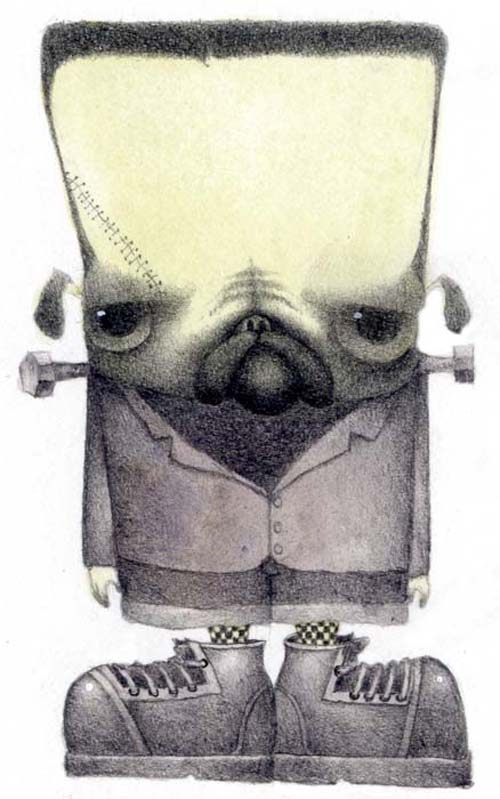 bill carman frankenpug