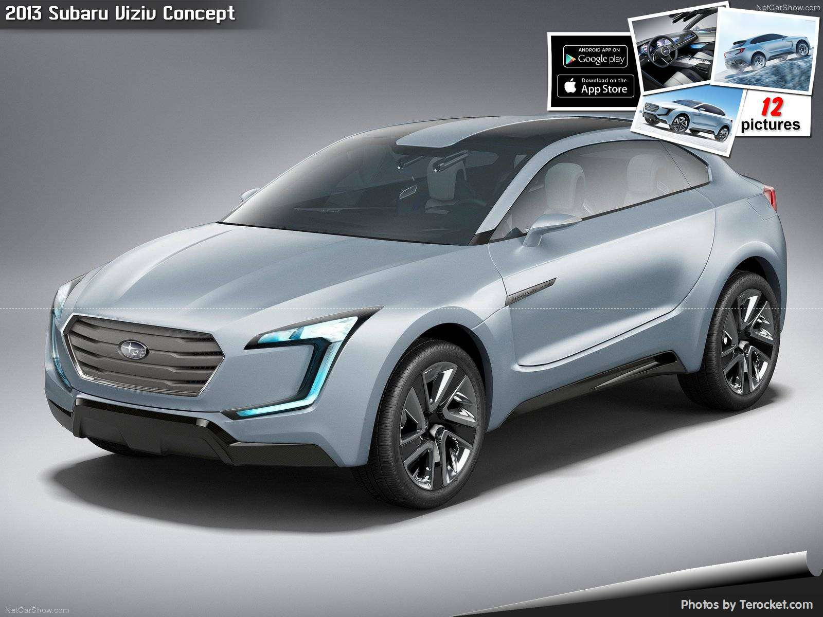 Hình ảnh xe ô tô Subaru Viziv Concept 2013 & nội ngoại thất
