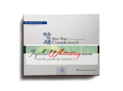Complexion 8 Bio Rae, Complexion 8 Bio Rae Whitening Injection, Complexion 8 Bio Rae Infus, Complexion 8 Injeksi, Complexion 8 Infus