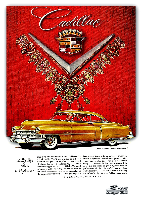 Little Petes Us Autos Cadillacs 1951 Cadillac Sedan Deville