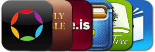 Lots of Bible Apps are available