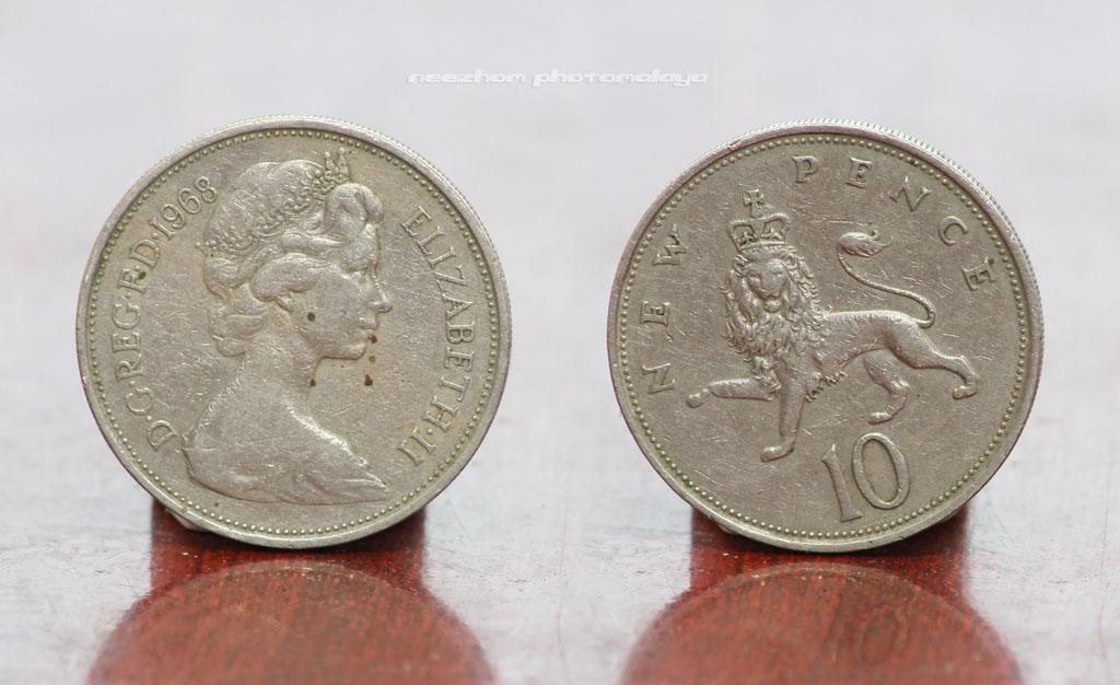 10 Pence 1968