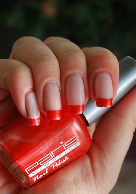 naglar, nails, nagellack, nail polish, paris memories, orange, funky franch