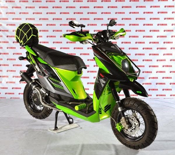 modifikasi yamaha x ride touring