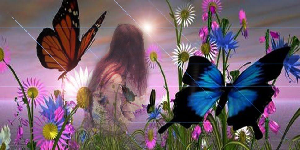 El libro Mágico de las Mariposas Azules