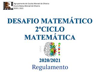 Desafio Matemático:  >REGULAMENTO