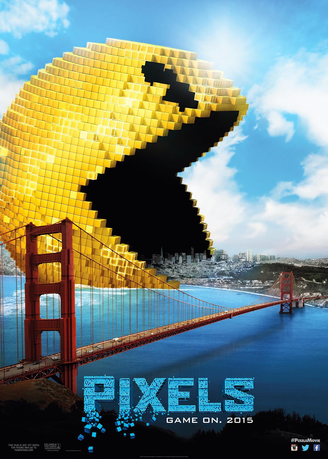 Download Film Pixels HD 720p Subtitle Indonesia - Pemoola