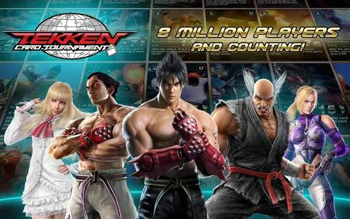 Tekken Card Tournament v3.204 Apk + Data