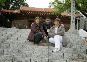 Martha, Luz Mila, Lelly, Carolina y Jhon Hader en Ibiuna