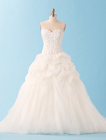 The 2013 alfred angelo disney fairy tale wedding gowns for Sleeping beauty wedding dress