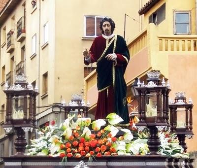 San Juan Evangelista. Real Hermandad de Jesús Divino Obrero. León. Foto A. García.