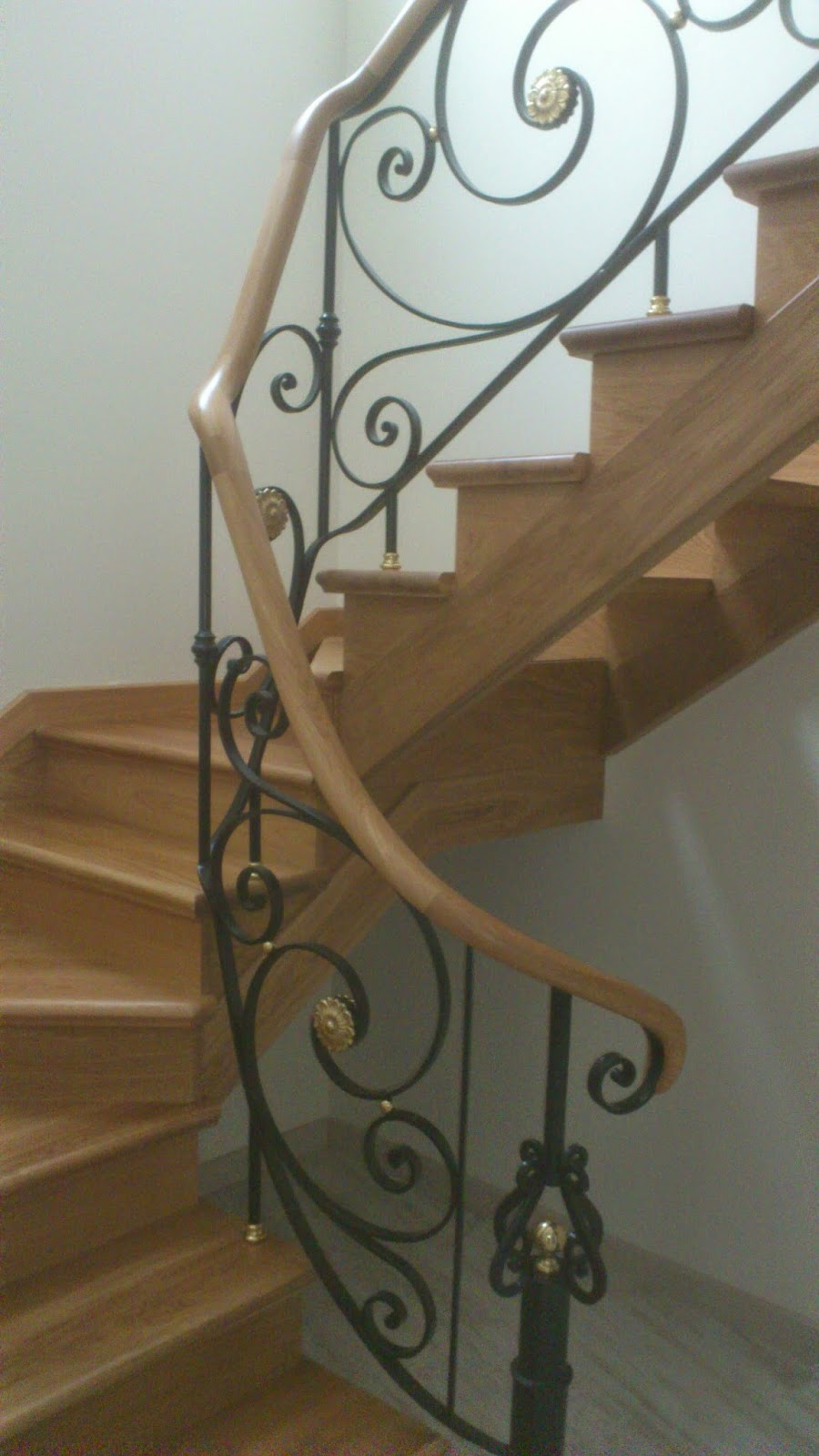 Madera pa - Pasamanos de madera para escaleras ...