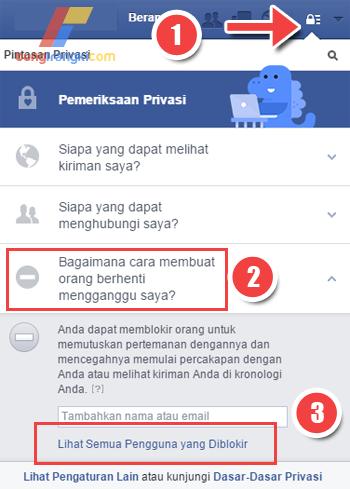 Mengembalikan Teman Facebook yang Telah di Blokir Terbaru