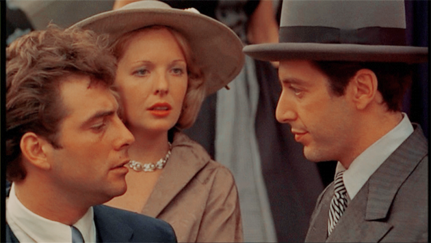 Al Pacino and Diane Keaton in The Godfather