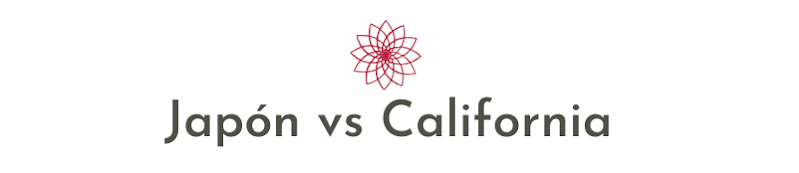 Japón vs California
