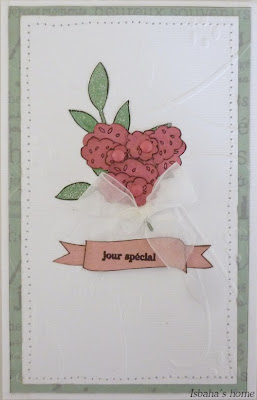 Cardmaking homemade card