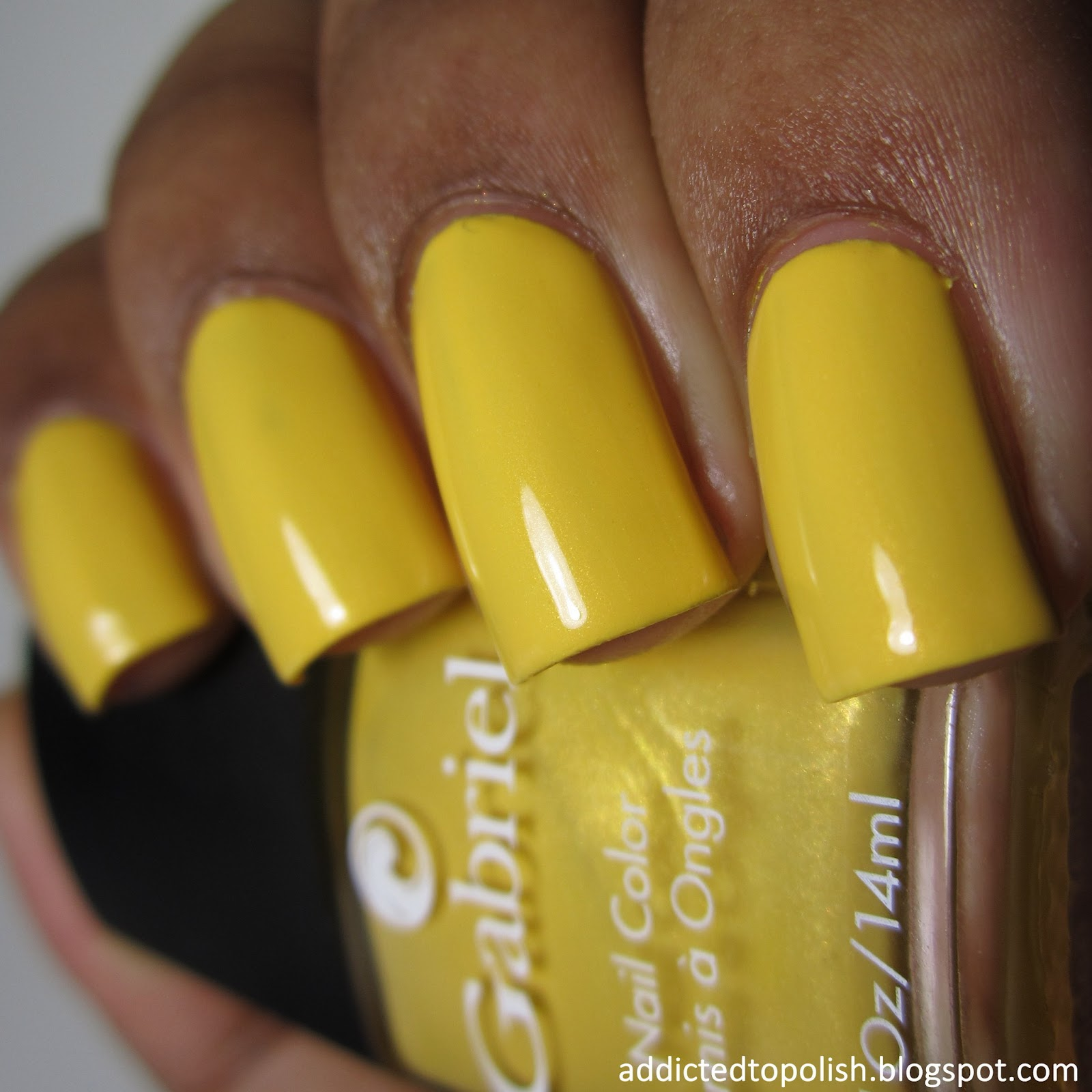 Gabriel Cosmetics Golden Yellow ColorBLOCKade Color Blockade Collection