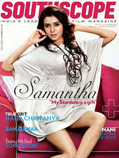 Samantha Ruth Prabhu Pictureshoot for South Scope Magazine Spicy Trendy Mini Skirts Samantha