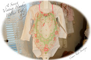 Recycled Vintage Hanky Halter Top for Little Girls