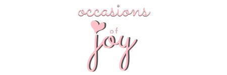 Occasions of JOY