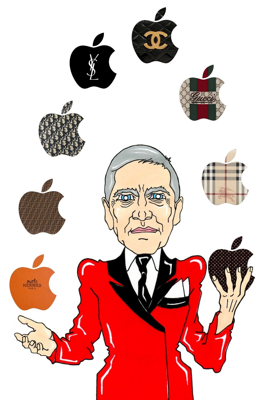 Humor Chic: Humor Chic Luxury & Technology - Apple Ceo Tim Cook and ...