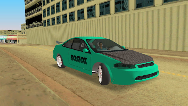Honda Accord Coupe Tuning GTA Vice City