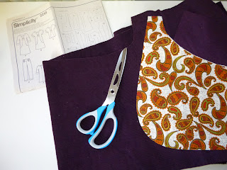 Sewing the Lisette Portfolio tunic dress, a pattern review and some modifications by fabricandflowers