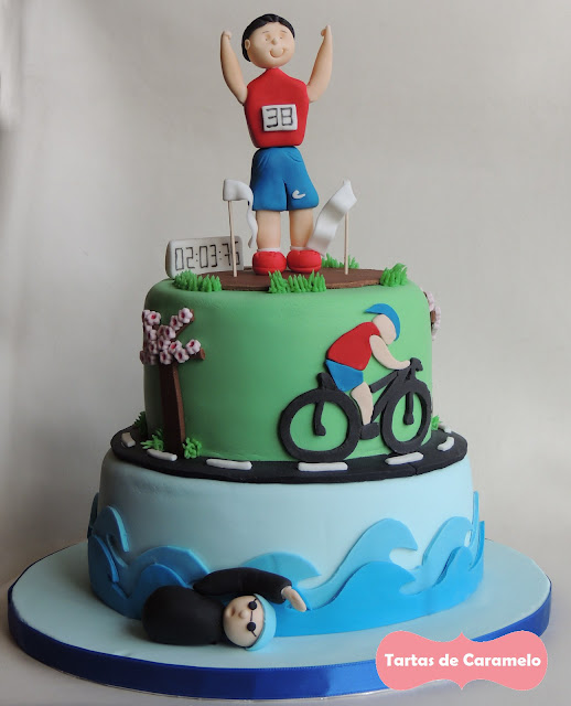 Tarta de Triathlon