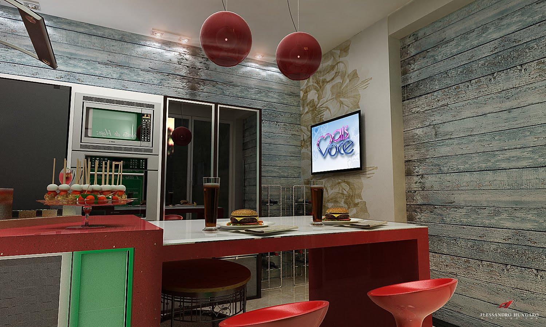 Arquitetura e Interiores: Cozinha Moderna Elis Regina Maringá PR #A72924 1500 900