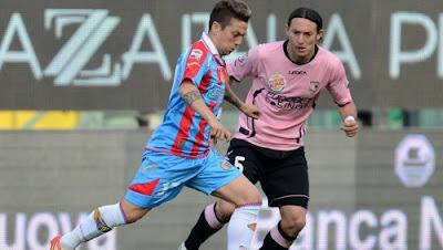 Palermo Catania 2-2 highlights sky