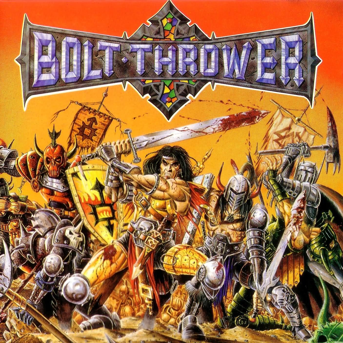 Black Gives Way To Blue: Bolt Thrower - War Master (1991)