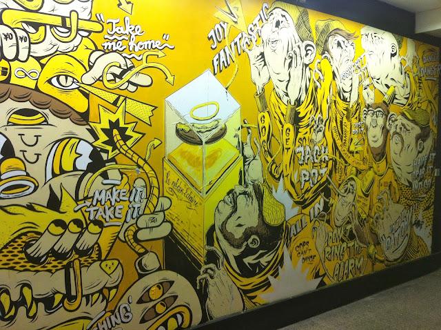 Street-Art Luxembourg Graffiti Aldringen Hamilius Goodbye Monopol Art Kunst Urban