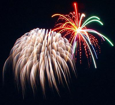 Sombras de neón Just like fireworks in the sky #0: doubleburst