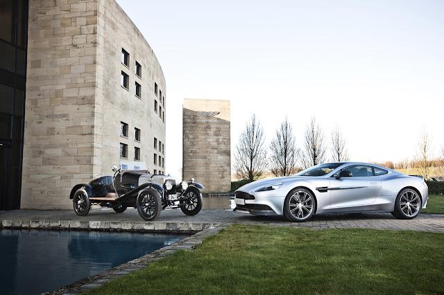 Aston Martin Vanquish Centenary Editon: Photos of the Car Celebrating 100 Years of Aston Martin