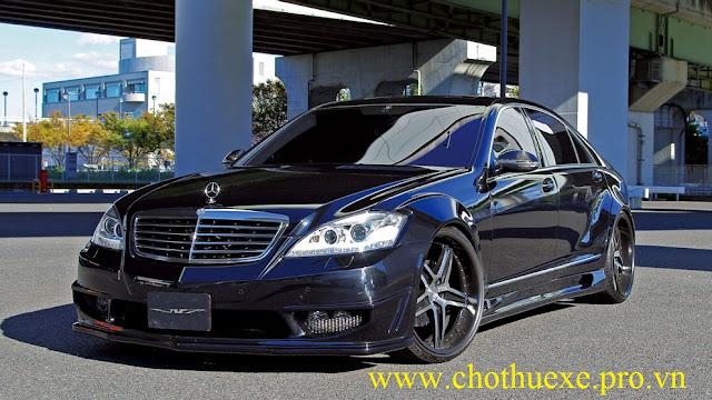 Cho thuê xe 4 chỗ Mercedes S500 cao cấp, sang trọng