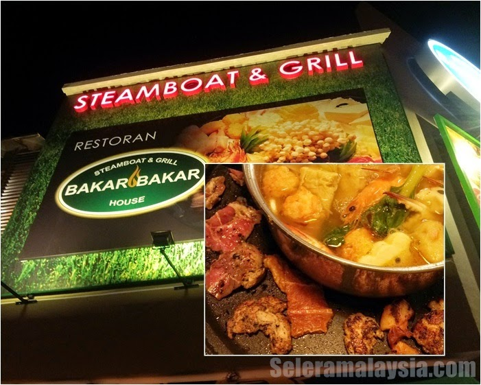 Bakar Bakar Steamboat Grill House at Bandar Baru Uda Johor Bahru