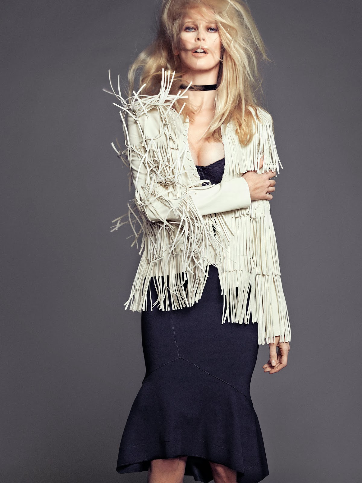 Claudia Schiffer HQ Pictures The Edit France Magzine Photoshoot Spring/summer 2014 By Nico