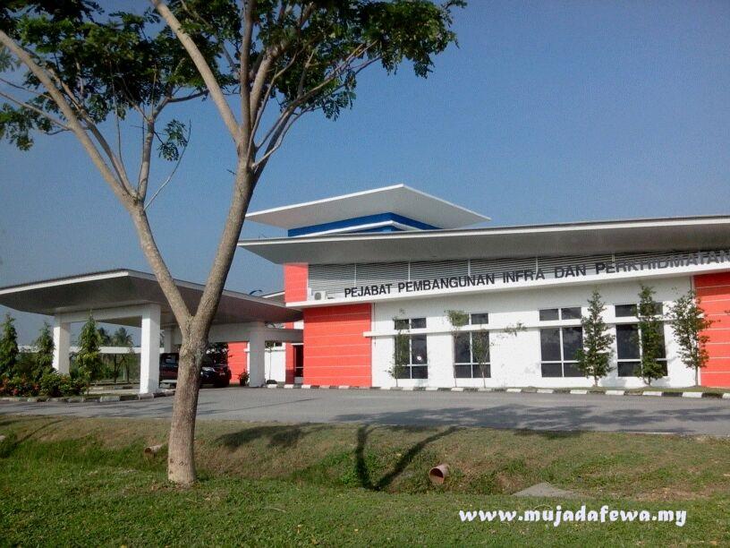 pejabat pembangunan infra dan perkhidmatan, universiti malaysia kelantan bachok, umk