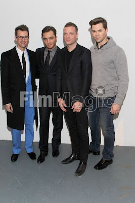 SIMON SPURR   Brad Goreski   Ed Westwick   Simon Spurr   Andrew Rannells NYFW Review & Photos: Simon Spurr Autumn/Winter 2011 Collection
