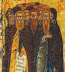 Cuviosii Mucenici ucisi in  Manastirea Sf. Sava cel Sfintit