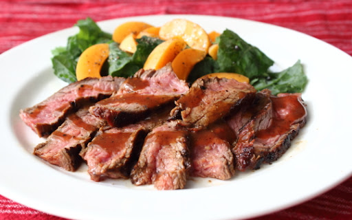 Beerbecue Beef Flank Steak Ala Miela Tahril Recipe