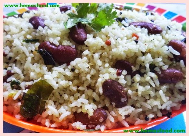 Rajma Coconut Rice