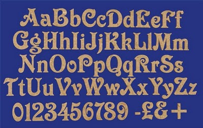 Airbrush Font Sets A-Z with Number and Symbol