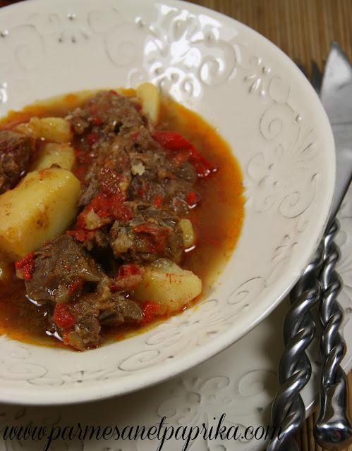 Joues de porc au paprika la serbe concours maggi parmesan et paprika - Joue de porc en cocotte minute ...