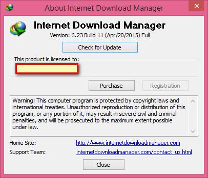 Internet Download Manager 6.23 Build 11  |Crack/Patch