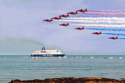 Sunderland Airshow with DFDS Seaways