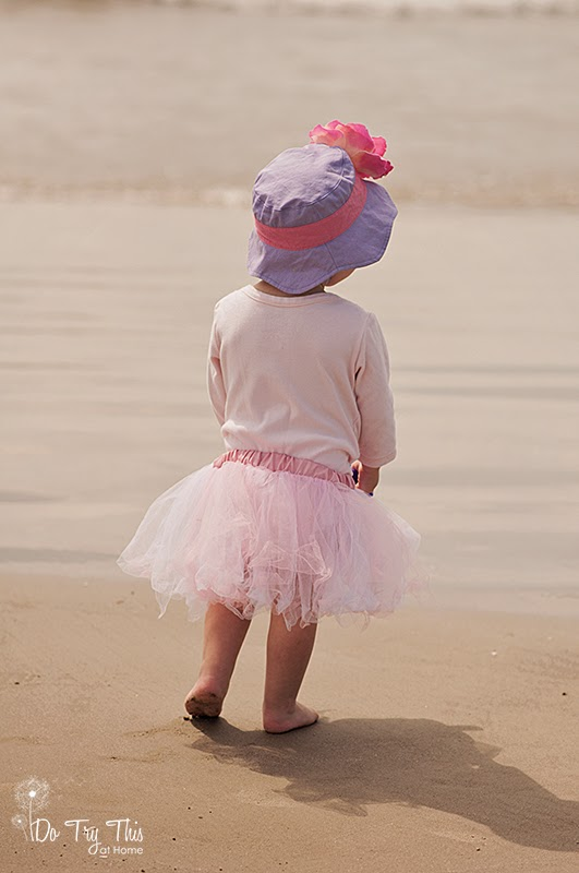Baby Toddler on Beach Galveston