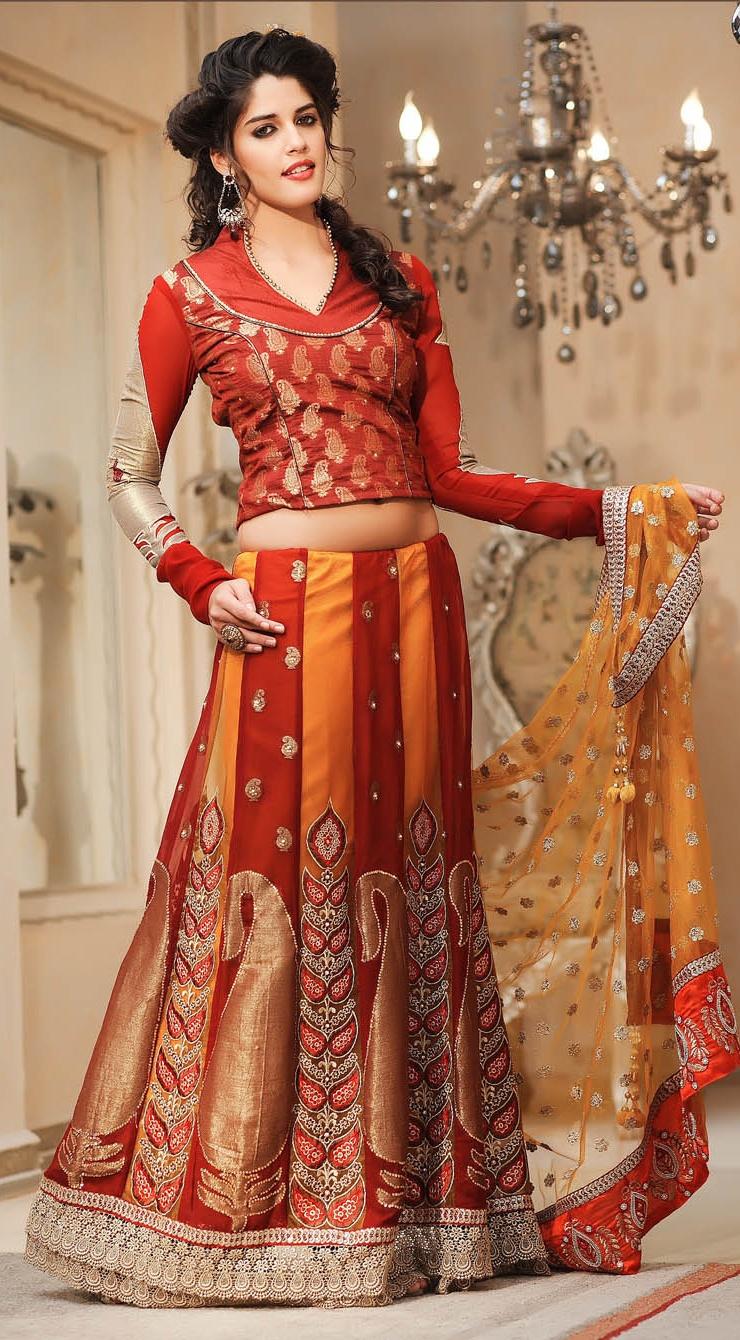 latest indian wedding sarees - photo #19