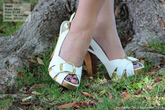 white bakers sandals
