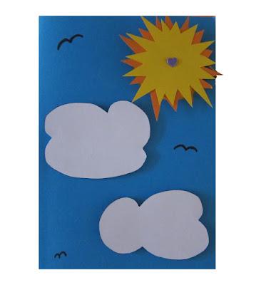 DIY Sol og sommer kort